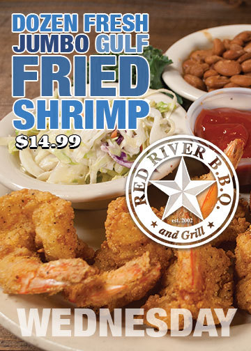 Fried Shrimp Special - $14.99