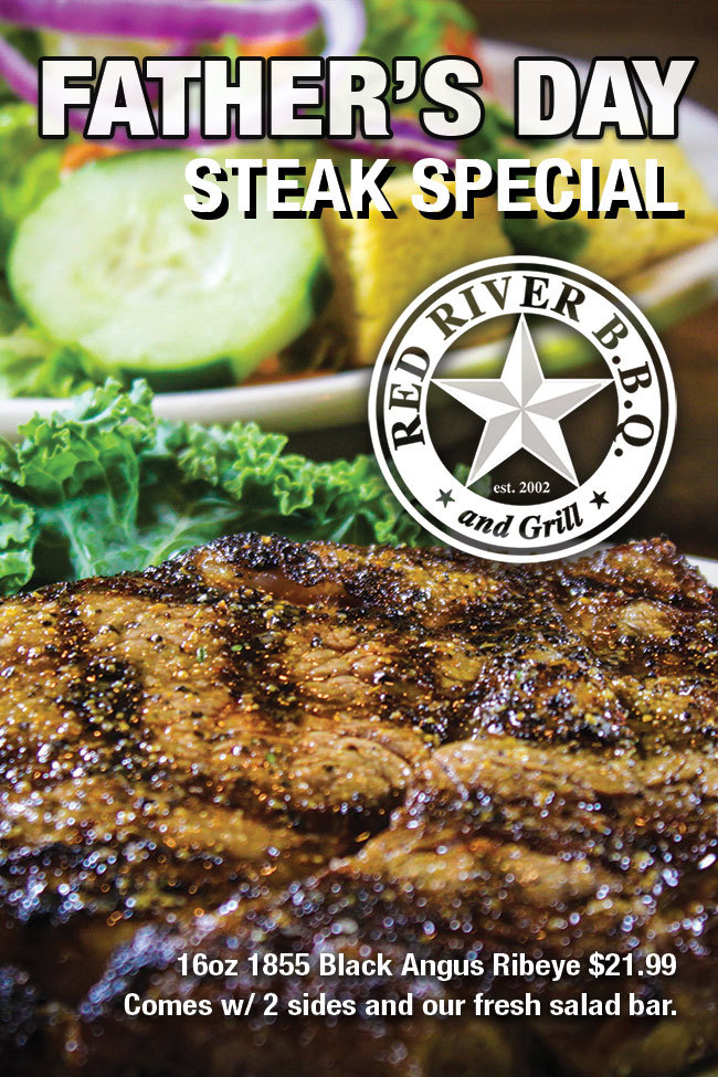 Fathers Day Steak Special